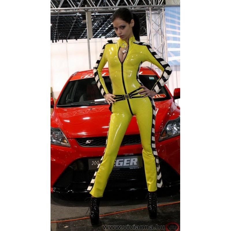 VLC-08 Grid girl latex catsuit