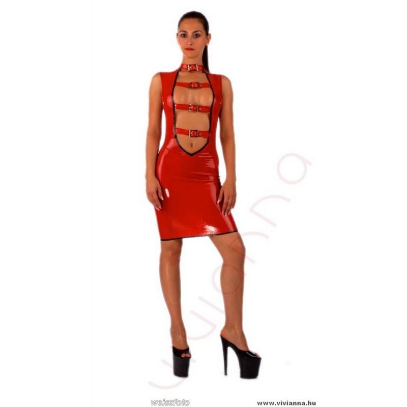 VLR-44 Csatos latex ruha