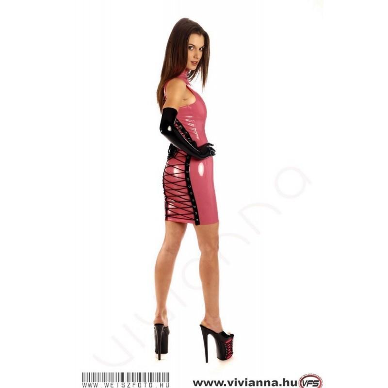 VLR-67 Fűzős latex ruha