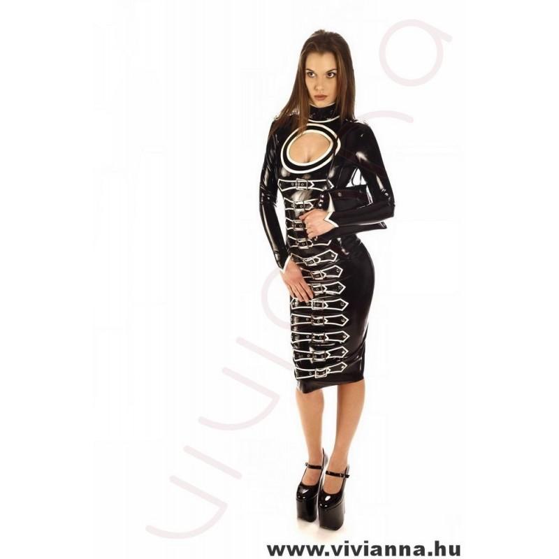 VLR-77 Csatos latex ruha