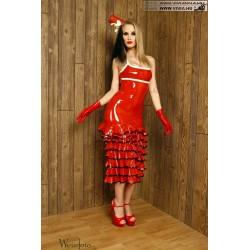 VLR-11 Fodros latex ruha
