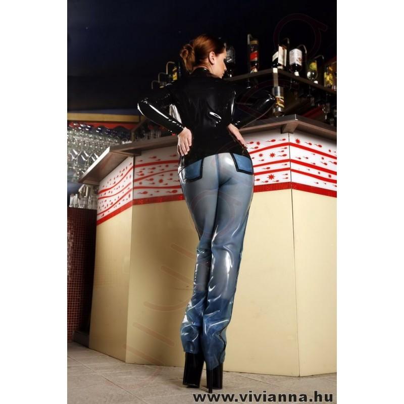 VLN-33 Latex jeans
