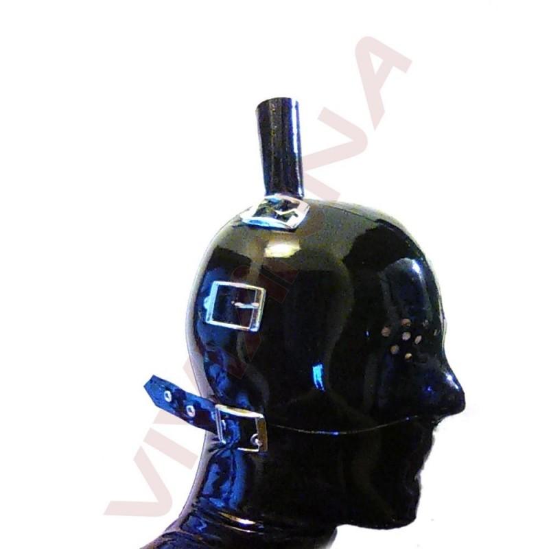 VLM-35 Latex maszk szem- szájtakaróval