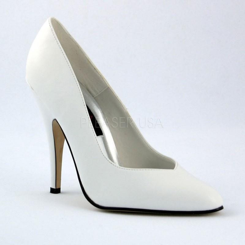 SEDUCE-420V Fehér utcai köröm cipő