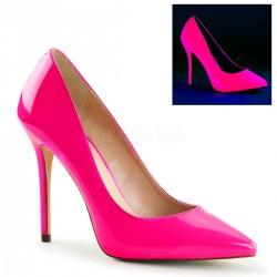 AMUSE-20 Rózsaszín pink glamour szexi köröm cipő