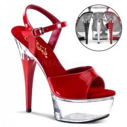 CAPTIVA-609 Piros táncos cipő
