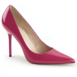 CLASSIQUE-20 Rózsaszín pink utcai köröm cipő
