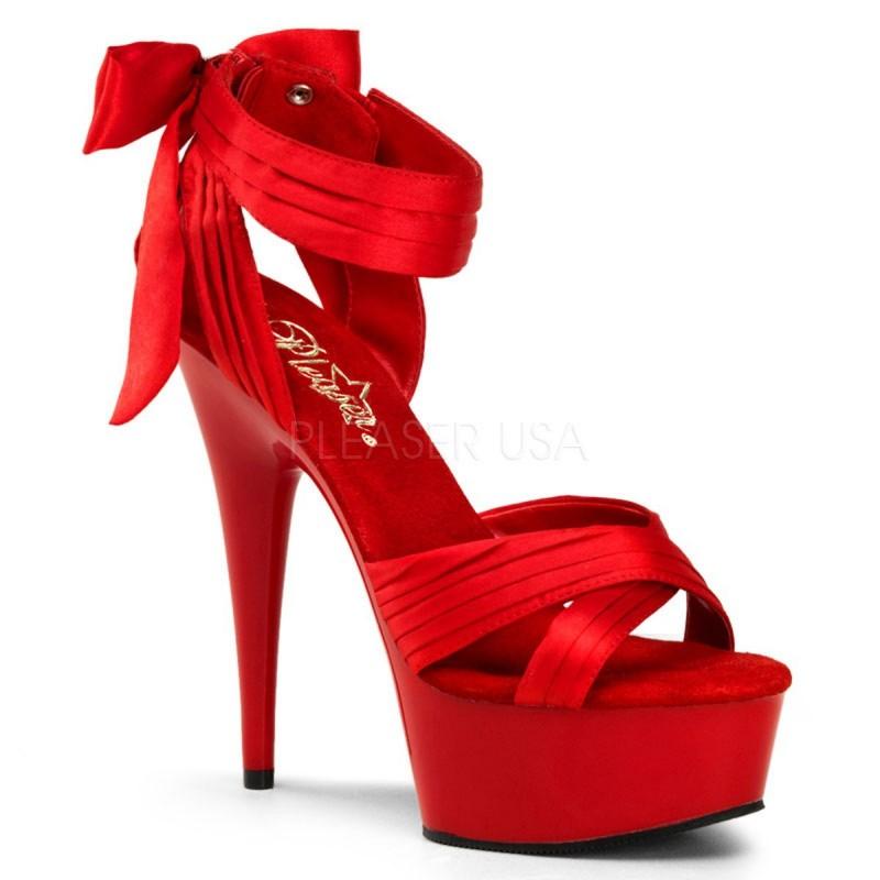 DELIGHT-668 Piros táncos cipő