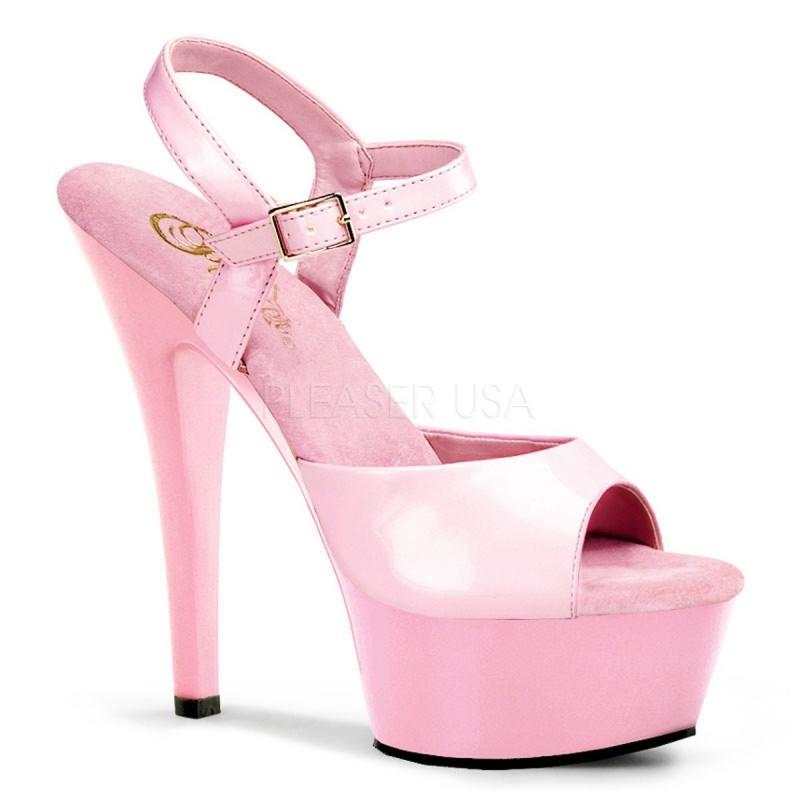 KISS-209 Rózsaszín pink táncos cipő