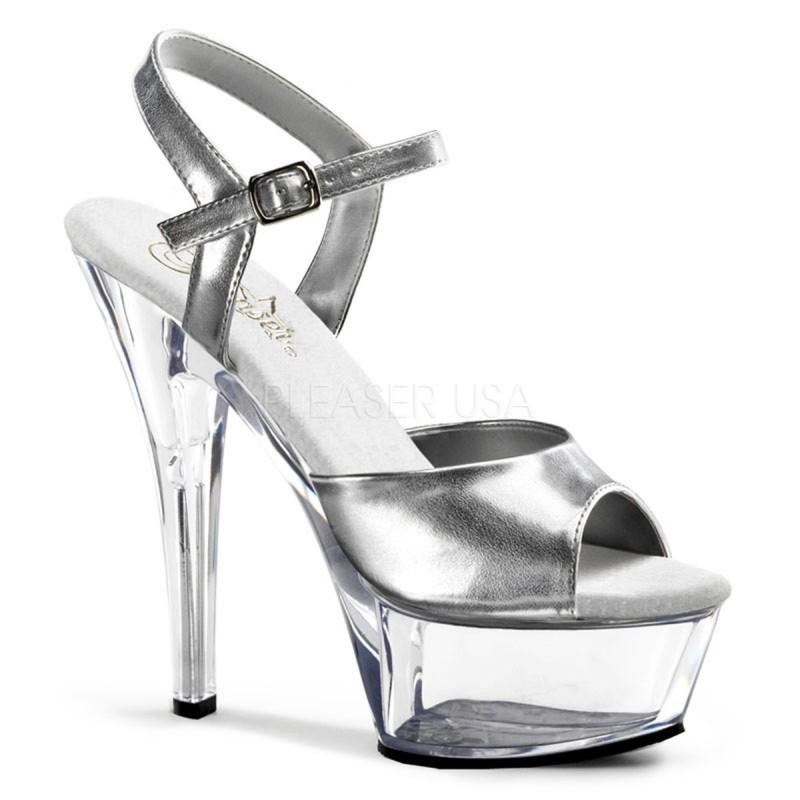 KISS-209 Ezüst táncos cipő