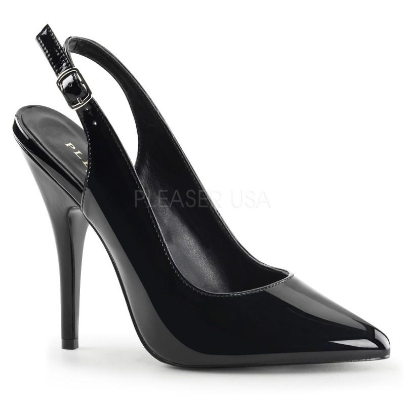 SEDUCE-317 Fekete utcai cipő