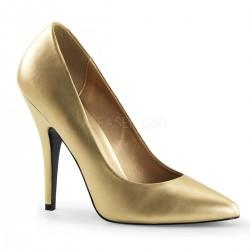 SEDUCE-420 Arany utcai köröm cipő