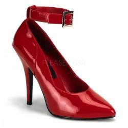 SEDUCE-431 Piros pántos utcai köröm cipő