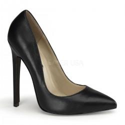 SEXY-20 Fekete glamour szexi köröm cipő