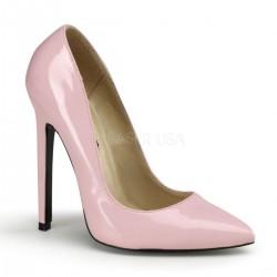 SEXY-20 Rózsaszín pink glamour szexi köröm cipő