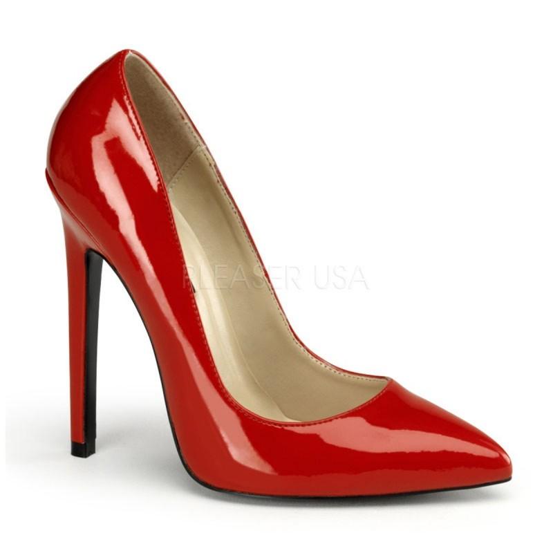 SEXY-20 Piros glamour szexi köröm cipő
