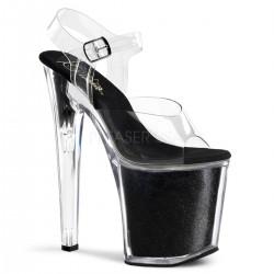 XTREME-808G Szilikon pántos táncos cipő
